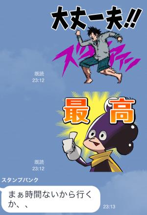 【アニメ・マンガキャラクリエイターズ】僕のヒーローアカデミア(堀越耕平) スタンプ (11)