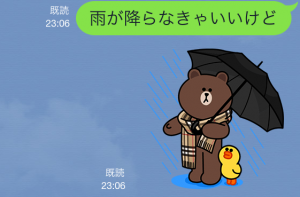 【隠しスタンプ】ブラウン&コニーのバーバリーデビュー スタンプ(2015年05月11日まで) (14)