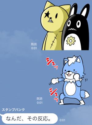 【アニメ・マンガキャラクリエイターズ】がくモン!(春原ロビンソン) スタンプ (9)
