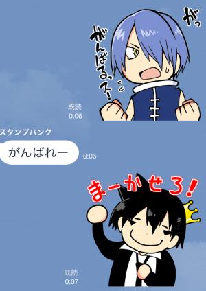 【アニメ・マンガキャラクリエイターズ】がくモン!(春原ロビンソン) スタンプ (16)