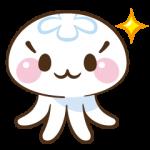【限定無料クリエイターズスタンプ】クラゲのクララ スタンプ(無料配布期間:2015年2月8日まで)