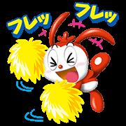 【無料スタンプ速報:隠しスタンプ】3Dコラショスタンプ(2015年05月21日まで)
