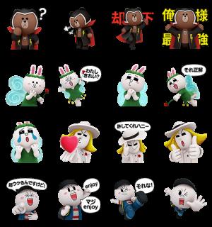 【限定スタンプ】LINEレンジャー スタンプ(2015年03月08日まで)