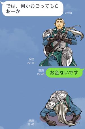 【ゲームキャラクリエイターズスタンプ】『レッドストーン』キャラクタースタンプ (5)