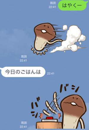 【企業マスコットクリエイターズ】なめこタイムDX スタンプ (5)