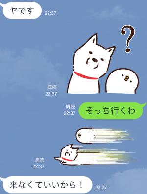 【限定スタンプ】白戸家お父さん×カナヘイ コラボスタンプ(2015年04月06日まで) (11)