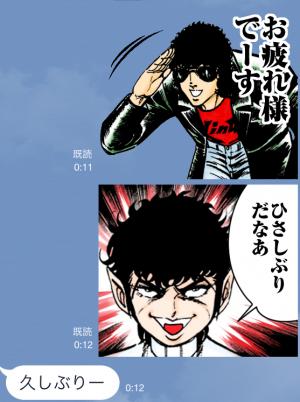 【アニメ・マンガキャラクリエイターズ】ブラック・エンジェルズ スタンプ (3)