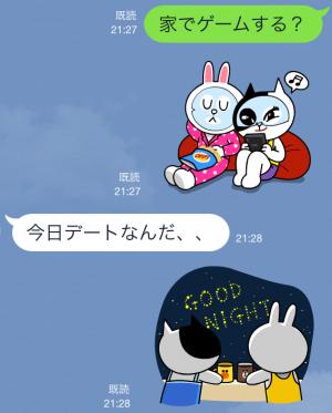 【公式スタンプ】コニー&ジェシカ ガールズトーク! スタンプ (7)