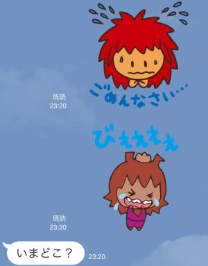 【企業マスコットクリエイターズ】キージとムーナ スタンプ (6)