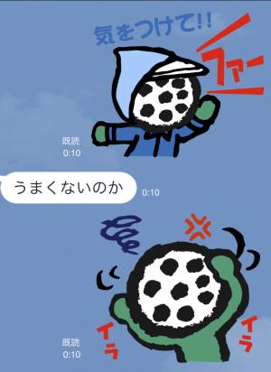 【企業マスコットクリエイターズ】ゴルパ君 スタンプ (4)
