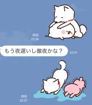【限定スタンプ】白戸家お父さん×カナヘイ コラボスタンプ(2015年04月06日まで) (10)