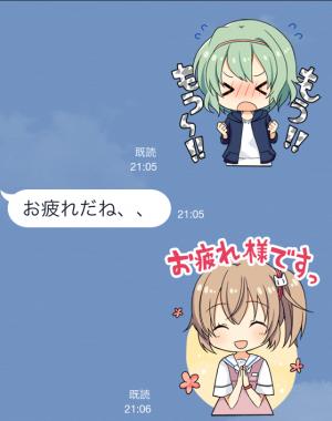 【ゲームキャラクリエイターズスタンプ】白衣性恋愛症候群 スタンプ (7)