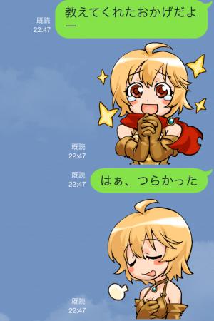 【ゲームキャラクリエイターズスタンプ】『レッドストーン』キャラクタースタンプ (4)