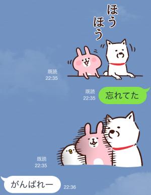 【限定スタンプ】白戸家お父さん×カナヘイ コラボスタンプ(2015年04月06日まで) (7)