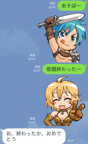 【ゲームキャラクリエイターズスタンプ】『レッドストーン』キャラクタースタンプ (3)