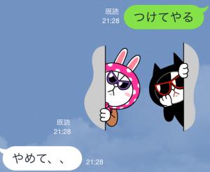 【公式スタンプ】コニー&ジェシカ ガールズトーク! スタンプ (8)