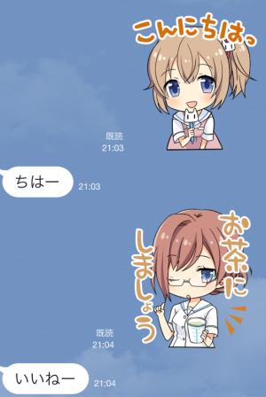 【ゲームキャラクリエイターズスタンプ】白衣性恋愛症候群 スタンプ (3)