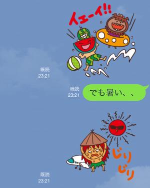 【企業マスコットクリエイターズ】キージとムーナ スタンプ (8)