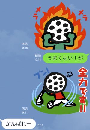 【企業マスコットクリエイターズ】ゴルパ君 スタンプ (5)