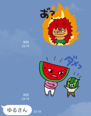 【企業マスコットクリエイターズ】キージとムーナ スタンプ (5)