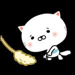 【無料スタンプ速報】動く!うるにゃん スタンプ(2015年04月27日まで)
