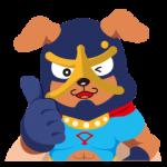 【ご当地キャラクリエイターズ】一生犬鳴!イヌナキン! スタンプ