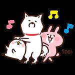【限定スタンプ】白戸家お父さん×カナヘイ コラボスタンプ(2015年04月06日まで)