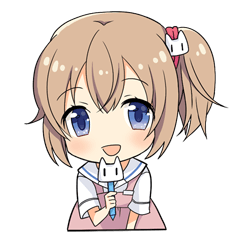 【ゲームキャラクリエイターズスタンプ】白衣性恋愛症候群 スタンプ