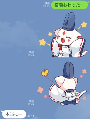【アニメ・マンガキャラクリエイターズ】九蔵喵窩オリジナルアニメ SAKURA 1 スタンプ (3)