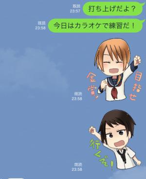 【アニメ・マンガキャラクリエイターズ】sing!スタンプ2 スタンプ (6)