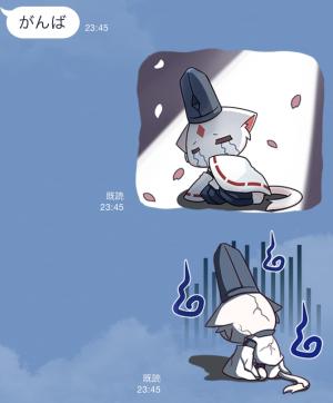 【アニメ・マンガキャラクリエイターズ】九蔵喵窩オリジナルアニメ SAKURA 1 スタンプ (8)