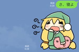 【企業マスコットクリエイターズ】ユニティちゃん スタンプ (8)