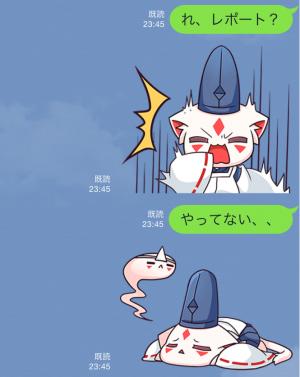 【アニメ・マンガキャラクリエイターズ】九蔵喵窩オリジナルアニメ SAKURA 1 スタンプ (6)