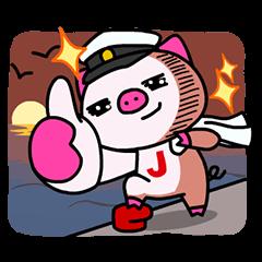 【無料スタンプ速報】JTB LINEオリジナルキャラクター★ スタンプ(2015年05月25日まで)