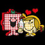【隠しスタンプ】エビアン × ミスターメン リトルミス スタンプ(2015年09月17日まで)