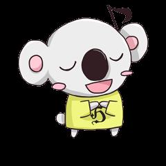 【大学・高校マスコットクリエイターズ】コアラスくん スタンプ