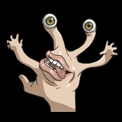 【アニメ・マンガキャラクリエイターズ】寄生獣 セイの格率 スタンプ