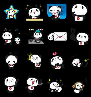 【隠しスタンプ】お買いものパンダ スタンプ(2015年06月17日まで)
