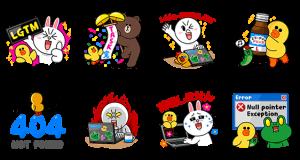 【無料スタンプ速報】LINE DEVELOPER DAY_2015 Tokyo スタンプ(2015年06月30日まで)
