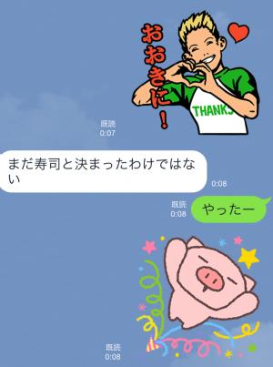 【限定スタンプ】LINE Creators Market1周年記念スタンプ(2015年06月17日まで) (5)