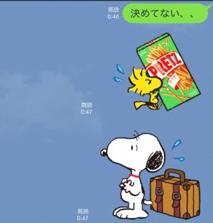 【シリアルナンバー】スヌーピーおでかけスタンププリッツ スタンプ(2015年10月12日まで) (13)