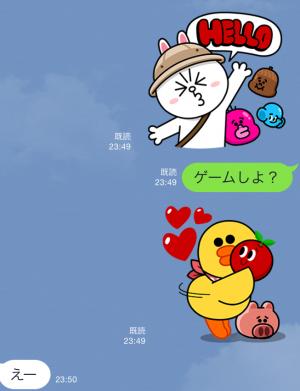 【限定スタンプ】LINE バブル2 スタンプ (5)