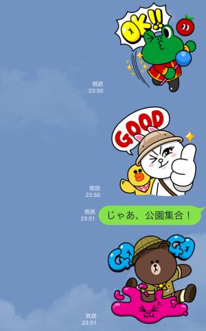 【限定スタンプ】LINE バブル2 スタンプ (7)