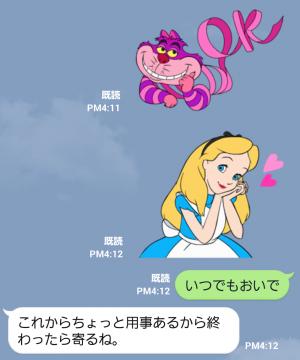【公式スタンプ】ふしぎの国のアリス(アニメーション) スタンプ (5)
