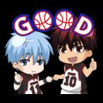 【公式スタンプ】動く!黒子のバスケ スタンプ