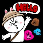 【無料スタンプ速報:隠しスタンプ】LINE バブル2 スタンプ