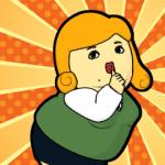 【アニメ・マンガキャラクリエイターズ】クレイジーOLアワー スタンプ