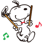 【シリアルナンバー】スヌーピーおでかけスタンプ<プリッツ> スタンプ(2015年10月12日まで)