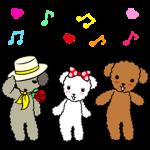 【動く限定スタンプ】動く☆ワンケルくんと楽しい仲間たち スタンプ(2015年06月08日まで)