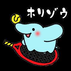 【大学・高校マスコットクリエイターズ】ホリゾウ スタンプ